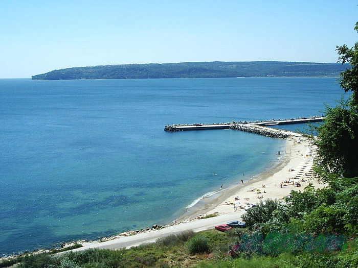 Black sea coast